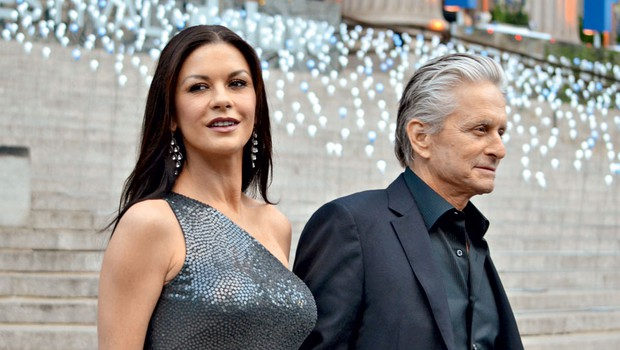 Catherine Zeta Jones in Michael Douglas (foto: Profimedia)