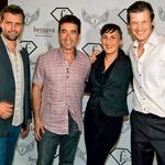 Glasbeni producent  Jorge Fuentes  (drugi z leve)  obožuje Slovenijo.  (foto: GK)