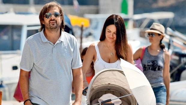 Milan zatrjuje, da zveza s Severino ni bila napaka, saj sta dobila prekrasnega sina.  (foto: Dalibor Urakakalović/Pixell)
