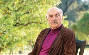 Poslovil se je igralec Sean Connery, ki je odlično upodobil Jamesa Bonda