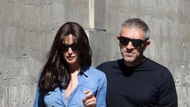 Monica Belluci in Vincent Cassel znova skupaj (foto: Profimedia)