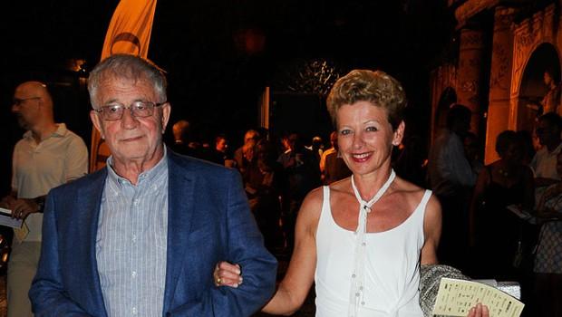 Peter Čeferin in Rija Čič (foto: Sašo Radej)