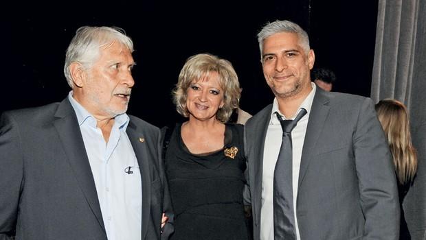 Igralec Boris Cavazza in šefinja protokola RS Ksenija Benedetti (foto: Sašo Radej)