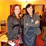 Na premieri sta uživali tudi ravnateljica glasbene šole Kranj Petra Mohorič in pevka Petra Polak. (foto: Mediaspeed)