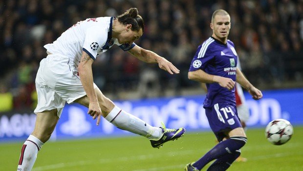 Izstrelek Zlatana Ibrahimovića (foto: profimedia)