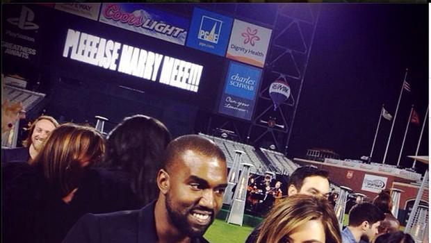 Kim in Kanye - se bo obdržalo? (foto: profimedia)