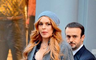 Lindsay Lohan toži tovornjakar