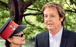 Paul McCartney zakopal bojno sekiro z Yoko Ono
