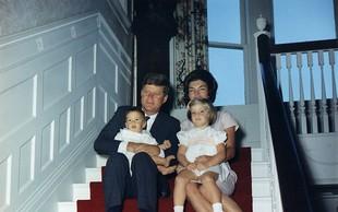 Oglejte si redke barvne fotografije Kennedyja