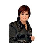 Kozmetična  inovatorka Zdenka  Kahne ni skrivala  dobre volje.  (foto: Sašo Radej)