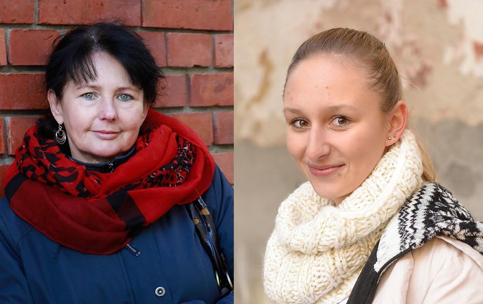 Obema bo klinika Dr. Tončić polepšala življenje. (foto: Goran Antley in Primož Predalič)