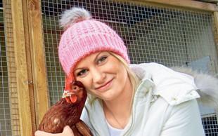 Irena iz Gostilne: Ne le kokoši, želi še zajčke in koze