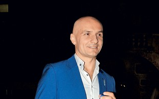 Branko Čakarmiš nakupoval novoletne okraske
