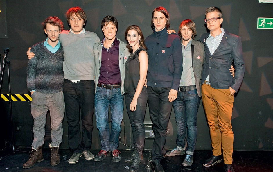 Del zadovoljne ekipe po premieri (foto: Zaklop.com)