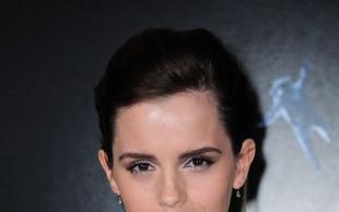 Igralka Emma Watson je samska