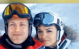 Jure in Alenka Košir na dopust brez otrok