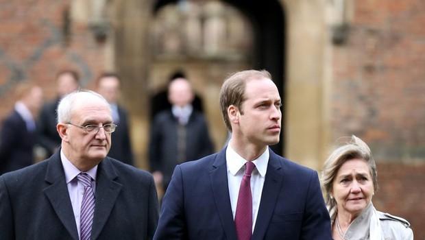 Princ William je prispel na Cambridge (foto: Profimedia)