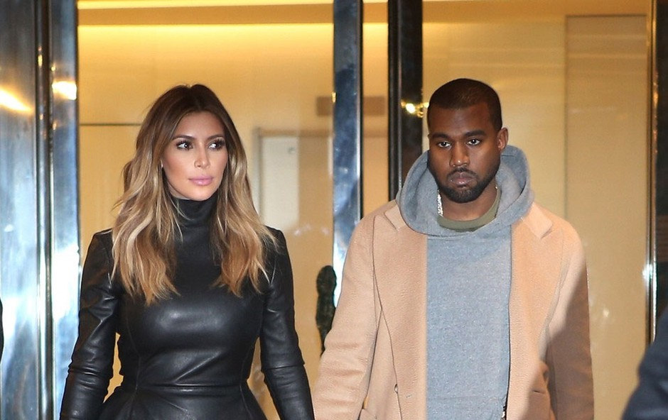 Kim Kardashian in Kanye West opažena v Parizu (foto: Profimedia)