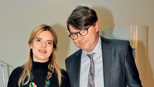 Valentina Smej Novak in Luka Novak (foto: revija Nova)