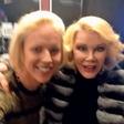Manja Plešnar je spoznala svojo 'dvojnico' Joan Rivers