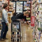 Penna in Theronovo ujeli med nakupovanjem (foto: Profimedia)