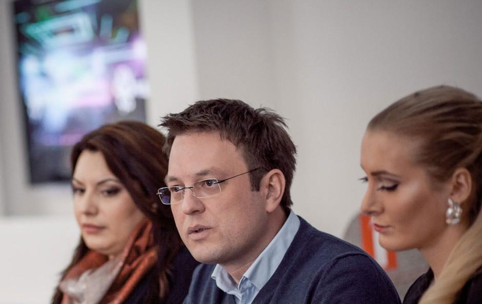 Svojo podporo so izrekli na novinarski konferenci. (foto: Max Petač)