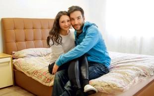 Andrej in Kristina: Najprej poroka, nato otrok
