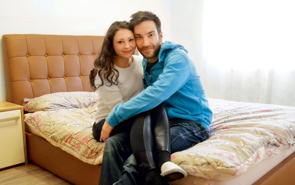 Andrej Murko in Kristina (foto: Goran Antley)