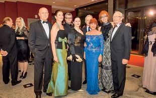 Tudi letos znani plesali dobrodelni Veliki Rotary ples