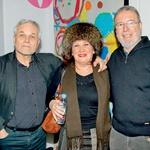 Niko Goršič,  Barbara Kraljevič  Jakopič in Aleš Jan (foto: Zaklop.com)