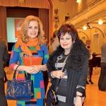Podelitve sta se udeležili tudi  kozmetični inovatorki Nika in  Zdenka Kahne. (foto: Primož Predalič)