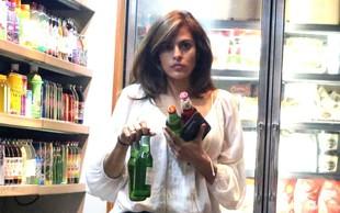 Eva Mendes ujeta med nočnim nakupovanjem