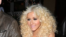 Christina Aguilera z odvečnimi kilogrami precej bolj sproščena