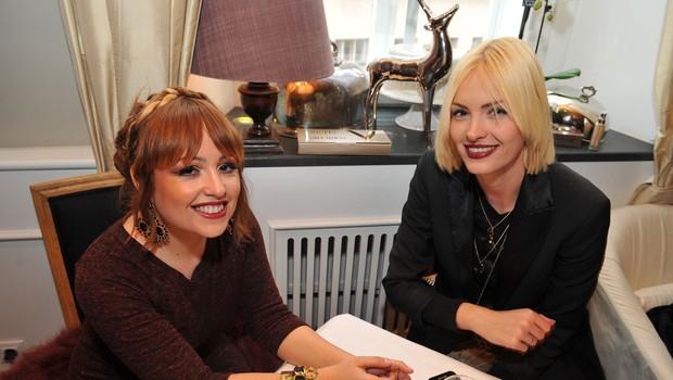 Nina Šušnjara in Tjaša Kokalj sta bili navdušeni nad novimi lepotnimi trendi Vichy. (foto: Luna TBWA)