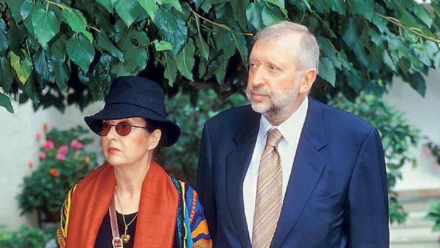 Dimitrij & Marjetica Rupel  (foto: revija Nova)