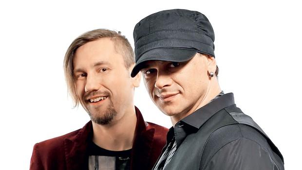 Samuel Lucas in Nermin Puškar (foto: Aljoša Rebolj)