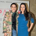 Pri filmu sta sodelovali sestri, igralka Pia Zemljič in režiserka Barbara Zemljič.  (foto: Sašo Radej)