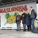 Rusko pustovanje na Pogačarjevem trgu v Ljubljani (foto: Anže Mikec in Miro Kosanović)