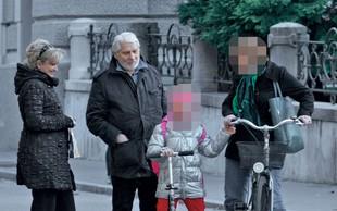 Boris Cavazza in Ksenija Benedetti ujeta na sprehodu