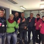 S Štefkom sta obiskala zaposlene na Opreativno komunikacijskem centru, (foto: Radio Center)