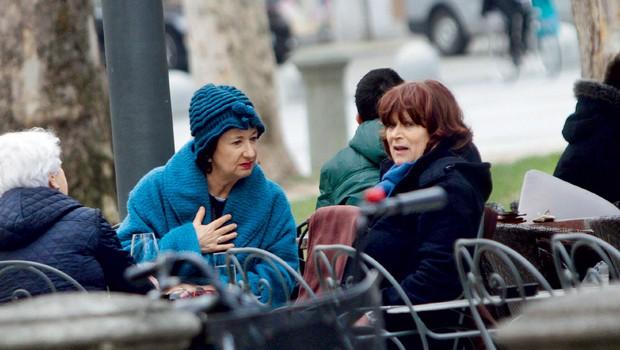 Polona Vetrih in Marjana Brecelj  (foto: Revija Story)