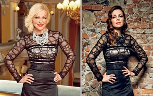 Slovenske zvezdnice, ki nosijo ista oblačila