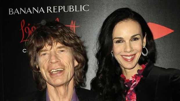Mick Jagger L'Wren Scott (foto: Profimedia)