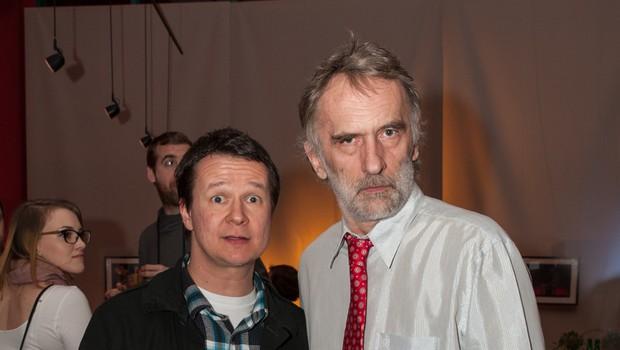 Jonas Žnidaršič in Andrej Težak (foto: Simon Mur)