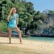Natka Geržina na filipinskem otoku Boracayu skočila v zakonski stan!