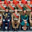 Princ William in vojvodinja Kate med irsko gardo