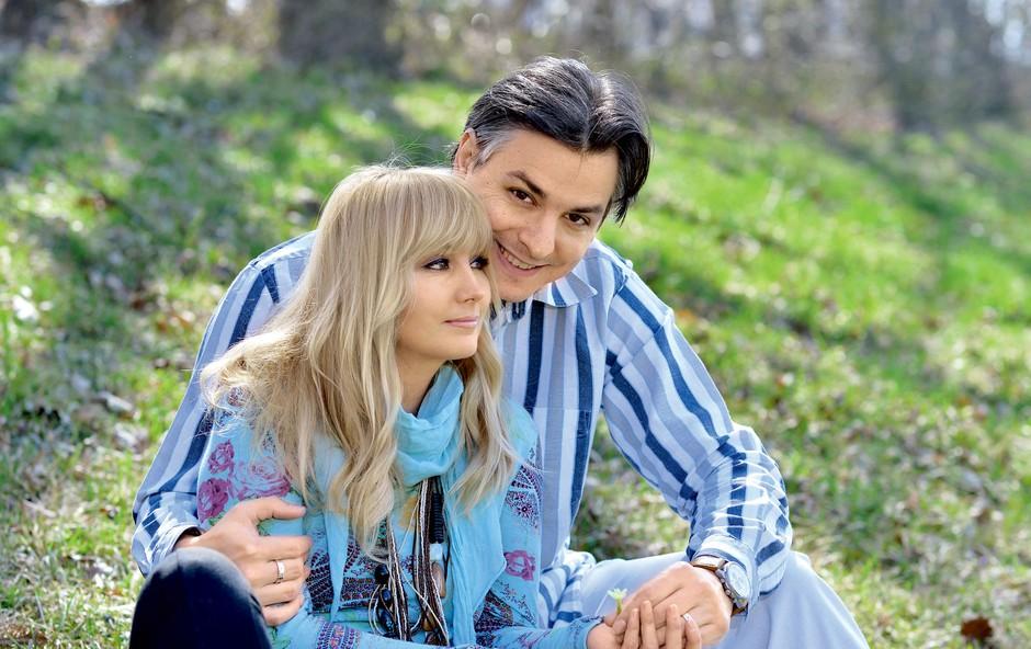 Saša Lendero in njen Miha Hercog (foto: Primož Predalič)