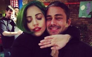 Lady Gaga je povsem podložna fantu