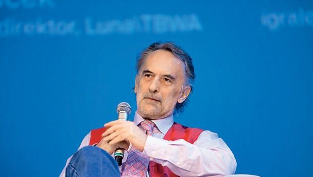 Razgibane pogovorne mize o inovativni ustvarjalnosti se je udeležil tudi Jonas Žnidaršič. (foto: Alpe)