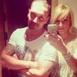 Vesna Janković in Sašo Radović sta uživala v Egiptu